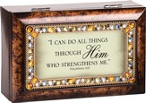 I Can Do All Things Through Christ, Jeweled Music Box