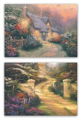Thank You Notes, Thomas Kinkade, Box of 12