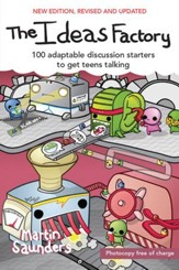 The Think Tank: 100 adaptable discussion starters to get teens talking - eBook