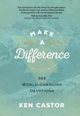Make a Difference: 365 World-Changing Devotions - eBook