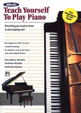 Teach Yourself to Play Piano, Book Only