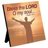 Bless the Lord, O My Soul, Plaque, Man