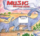 Alfred's Basic Music Writing Book, Wide-lined, 32 pages