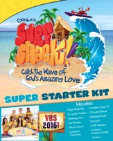 VBS 2016 Surf Shack: Catch the Wave of God's Amazing Love - Starter Kit