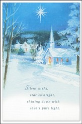 Silent Night, Star So Bright Cards, Box of 20