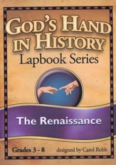 God's Hand in History Lapbook Series: The Renaissance PDF  CD-ROM