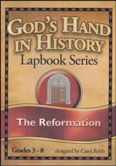 God's Hand in History Lapbook Series: The Reformation PDF  CD-ROM