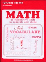 Math Part B Teacher's Manual