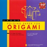 Folding Paper for Origami Large with 8 page booklet