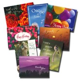 All Occasion Inspirational Greeting Cards: 24 Card Poly-Bagged Set