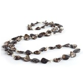 Pearls of Wisdom Necklace, Black