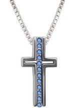 Truth Trinity Cross Pendant