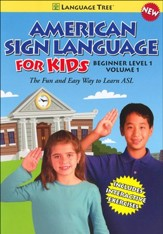 American Sign Language for Kids Volume 1