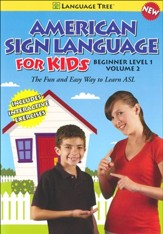 American Sign Language for Kids Volume 2