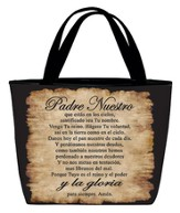 Lord's Prayer Tote Bag, Spanish