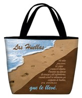 Footprints Tote Bag, Spanish