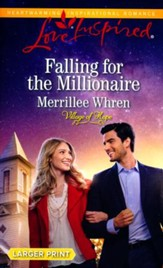 Falling for the Millionaire, Large Print