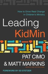Leading KidMin: How to Drive Real Change in Children's Ministry - eBook