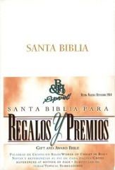 Biblia de Premios y Regalos RVR 1960, Piel Imit., Blanco  (RVR 1960 Gift & Award Bible, Imitation Leather, White)