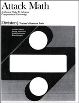 Division Teacher Resource Book