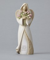 Foundations, Mom You're Simply the Best Angel Figurine