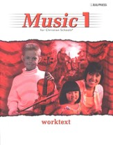 BJU Music 1, Student Worktext