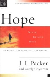 Hope: Never Beyond Hope, Christian Basics Bible Studies