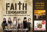 Faith Commander Curriculum Kit: Learning 5 Family Values from the Parables of Jesus