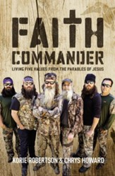 Faith Commander Adult Study Guide: Learning 5 Family Values from the Parables of Jesus
