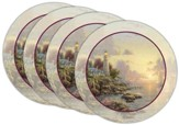 Thomas Kinkade Sea of Tranquility Coasters, Set of 4
