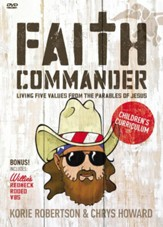 Faith Commander Children's Curriculum: Learning 5 Family Values from the Parables of Jesus