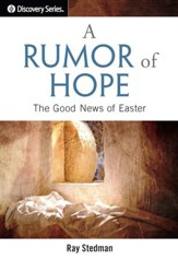 A Rumor of Hope: The Good News of Easter - eBook
