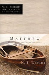 Matthew: N.T. Wright for Everyone Bible Study Guides  - Slightly Imperfect