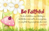 Be Faithful Magnet