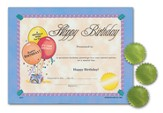 Certificates: Happy Birthday/Seals
