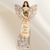 Bless This Home Angel Figurine