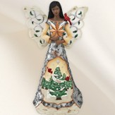 Noel Ebony Angel Figurine