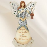 May the Gifts of Love and Kindness Angel Figurine