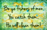 Fishers of Men Magnet
