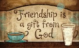 Friendship is a Gift magnet