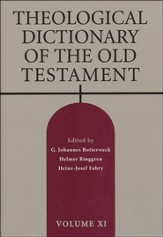 Theological Dictionary of the Old Testament, Volume 11