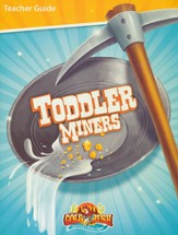 Gold Rush VBS Toddler Teacher Guide  - Slightly Imperfect