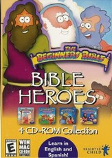 The Beginner's Bible: Bible Heroes-Moses and Noah on CD-ROM