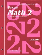 Saxon Math 2, Student Work Kit & Fact Cards