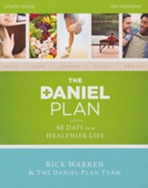 The Daniel Plan Study Guide: 40 Days to a Healthier Life - Slightly Imperfect
