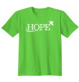 Hope In Jesus, Shirt, Lime, Small