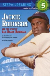 Jackie Robinson and the Story of All-Black Baseball, Phonics  Reader