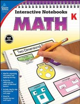 Interactive Notebooks Math, Grade K