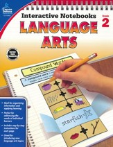 Interactive Notebooks Language Arts, Grade 2