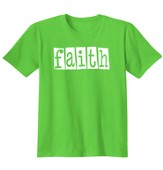 Faith In Jesus, Shirt, Lime, Medium